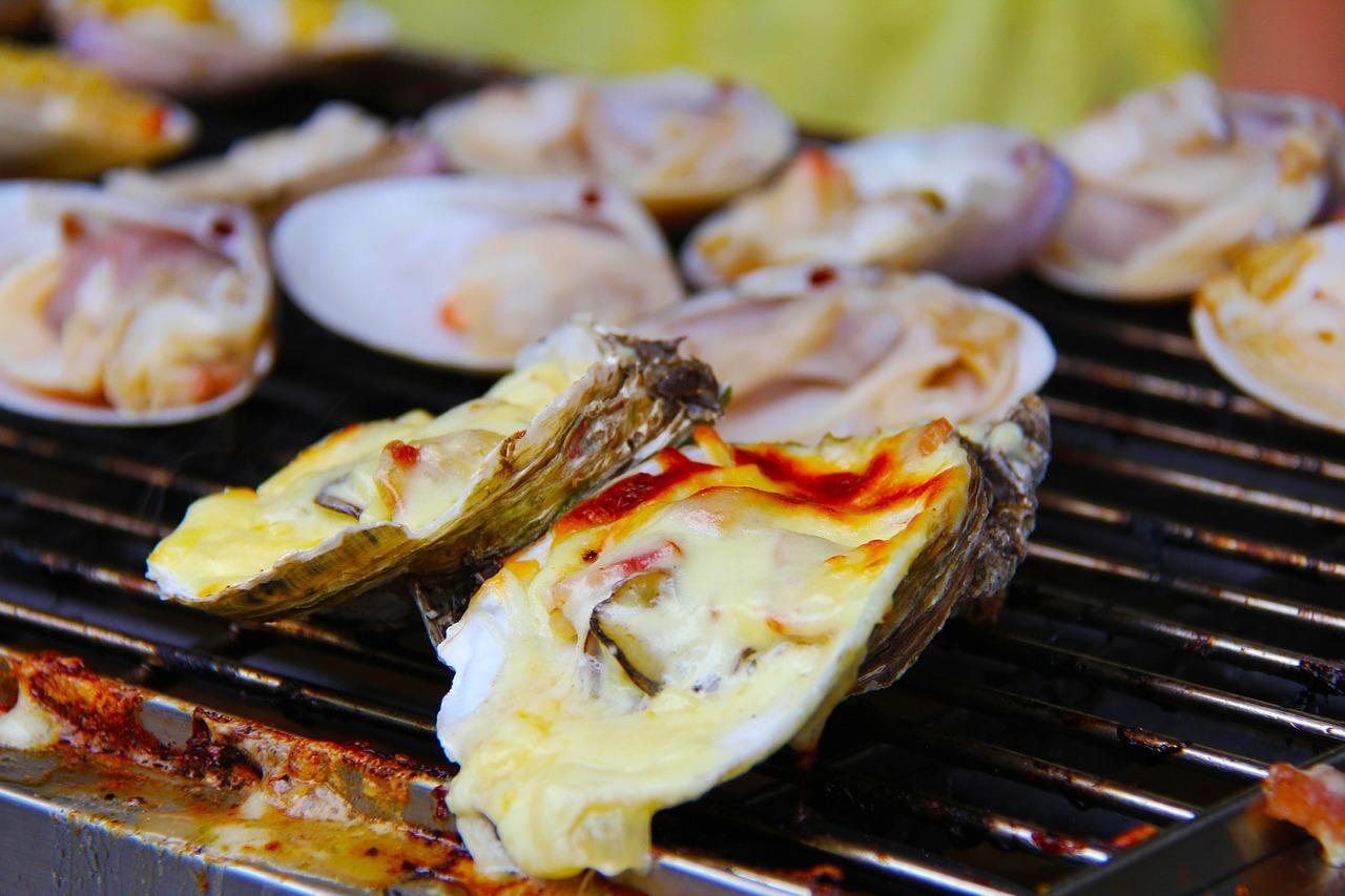 体温上げる牡蠣