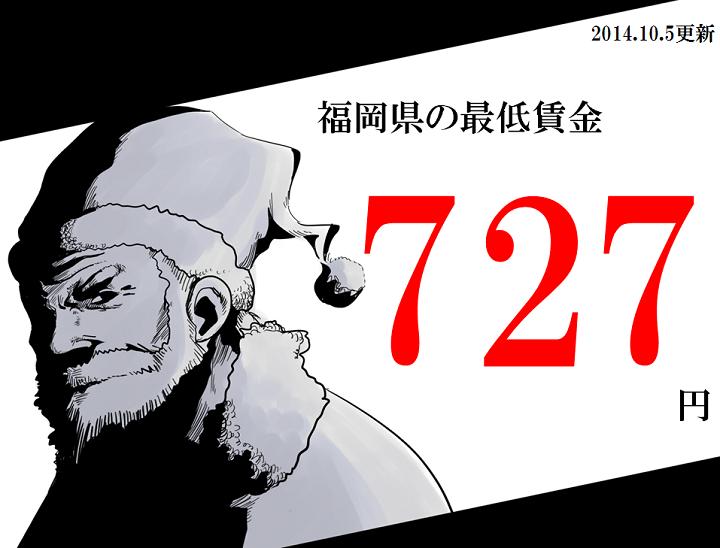 福岡 最低賃金