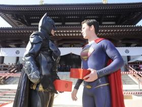 バットマンvsスーパーマン 豆まき