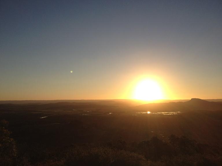 オーストラリア 朝日