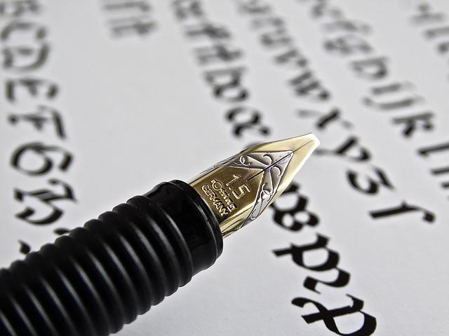 fountain-pen-442066_640