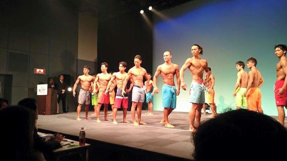 ベストボディジャパン2015福岡大会フレッシャーズクラス