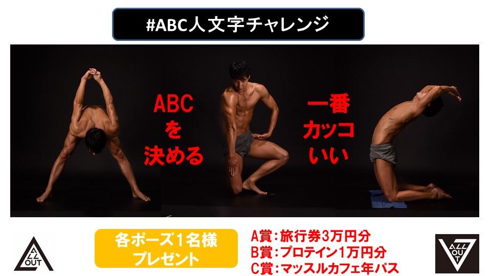 ABC人文字チャレンジ